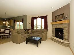 how to arrange furniture in a small living room with fireplace