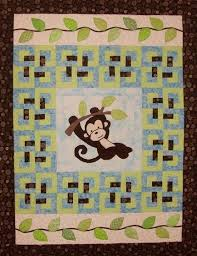 16 best Monkey Quilt ideas images on Pinterest | Quilting ideas ... & 4696_monkeyquilt.jpg. Panel QuiltsChildren's QuiltsQuilt BabyMonkey  CraftsPatchwork Quilt PatternsAnimal ... Adamdwight.com