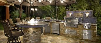 Outdoor Barbecue Kitchen Designs Kitchen Awesome Outdoor Kitchen Grill Island Designs With Grey