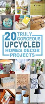 20 Truly Gorgeous Upcycled Home Dcor Items You Can Make