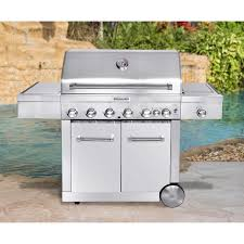 Fine Kitchenaid 5 Burner Gas Grill Item 472738 Click To Zoom For Decorating Ideas