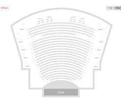 Lyric Theatre Seating Chart London 80 Thorough Book Of Mormon Seating Chart London