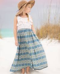 Simple Life Pattern Company Interesting Piper's Flounce Top Dress And Maxi Downloadable PDF Pattern For