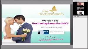 Hochzeitsplaner Ausbildung Info Webinar Youtube