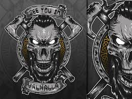Ragnar T Shirt Design Viking T Shirt Design Illustration By Jhony Caballero On