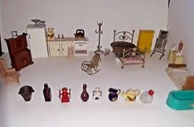 Furniture miniature Scroll Saw Image Is Loading Vintagewoodmetaldollhousefurniturelotminiature dollhouse Factory Direct Craft Vintage Wood Metal Dollhouse Furniture Lot Miniature Dollhouse