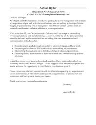 Best Salesperson Cover Letter Examples Livecareer