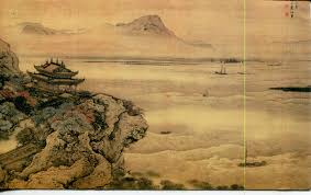 china postcard an ancient chinese painting