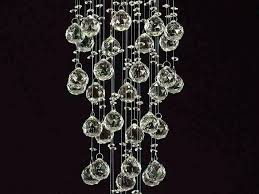 crystal chandelier table lamp lighting gorgeous black style