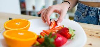 نظام غذائي صحي يومي - موضوع