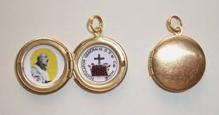 st padre pio locket available in the gift