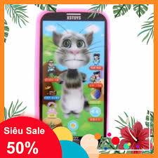 Mua [Hàng Hot] Đồ chơi điện thoại mèo TOM thông minh chỉ 75.000₫