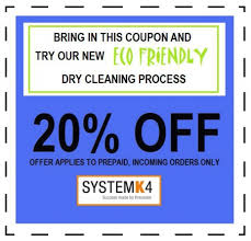 Downloadable Coupons Kasperbauer Cleaners Inc Carroll Iowa Eco Friendly Dry Cleaning
