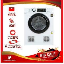 MIỄN PHÍ LẮP ĐẶT - Máy sấy thông hơi Aqua 7 Kg AQH-V700FW - Máy giặt Nhà  sản xuất AQUA