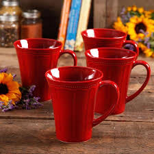 Mornings come very early on our ranch, drummond said in a news release. Pioneer Woman Paige 4 Piece Transparent Glaze Mug Set Walmart Com Pioneer Woman Dishes Pioneer Woman Kitchen Mugs Set