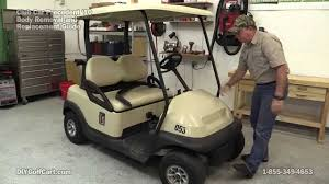 Lights Wont Work On Club Car Golf Cart How To Remove Body On Club Car Precedent Golf Cart Part 1