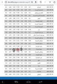 موعد أذان فجر الإثنين 10-5-2021 فى مصر
