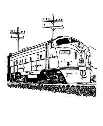 For the children, coloring is a fun way to spend their time. New Coloring Train Coloring Pages Online Free Kids Coloring