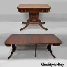 karges banded gany regency style extension dining table flip top game table