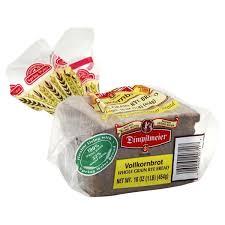 Dimpflmeier Bread Whole Grain Rye Vollkornbrot 16 Oz From