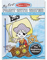 Melissa Doug My First Paint With Water Coloring Book