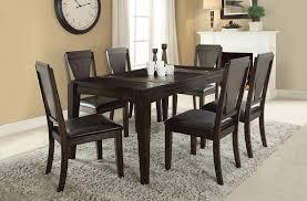 Acme 71900 Goldcliff Walnut Stone Inserts Dining Table Set 7pcs