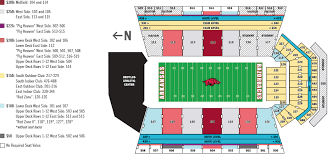 Razorback Seating Chart Football Stadium Razorback Football Stadium Seating