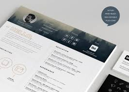 40 Creative Resume Templates You Ll Want To Steal In 2018 With