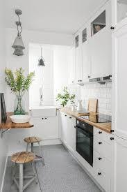 small white kitchens. Exellent Small White Brick Wall Small Kitchen Design Intended Kitchens