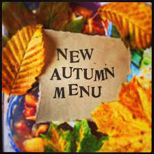 Autumn Dinner Menus New Friday Night Autumn Menu Cafe Rua