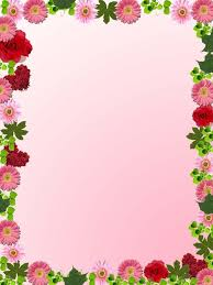 Small Picture Spring Flower Border Clip Art floral frame bg photo