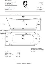 photo 1 of 9 bath tub standard size this freestanding dimensions bathtub uk tu