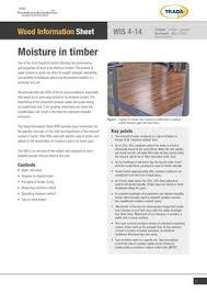 Wood Shrinkage Chart Tradas Wood Information Sheets