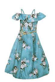 Meti Cloth Designs Bajaj Fashion Silk Meti Printed Fancy Gown For Girls 6 7