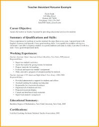 Preschool Teacher Assistant Resume Resume Of A Preschool Teacher Assistant Teacher Resume Sample Resume 33
