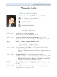 Cv Alessandra Crobe Cv Alessandra Crobe Pdf Pdf Archive