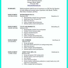 97 Cnc Machinist Resume Templates Cnc Machinist Resume Lovely