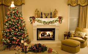 Living Room Christmas Decor Best Collection For Christmas Living Room Decor White Fireplace
