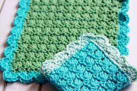 Easy Crochet Dishcloth Patterns Extraordinary Easy Crochet Dish Cloth Pattern