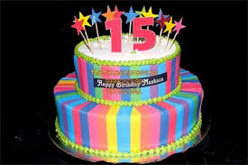 Colourfull Birthday Cake 25 Kg Noida Online Cake Delivery From