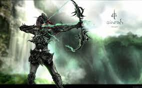 fantasy archer wallpaper