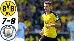 Borussia Dortmund vs Manchester City 7:8 - All Goals & Highlights RESUMEN &  GOLES (28/07/2016) HD - YouTube