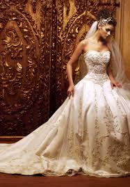 terrific gold wedding dresses stunning gold wedding dresses aelida