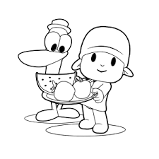 Pocoyo Kleurplaten Leuk Voor Kids