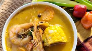 Jamaican Seafood & Corn Soup A hearty ...
