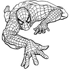 Coloring book with spider man will let player to create absolutely new image for hero, as here you can choose any colors you like. Spiderman Coloring Game Coloring Home