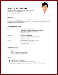 Sample Resume For Teachers Without Experience Pdf Gentileforda Com