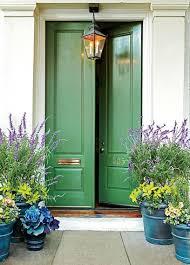 feng shui front doorFeng Shui of Front Door Colors Green and Brown
