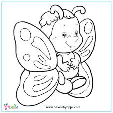 The butterfly coloring pages add spark to the kids' imagination and greatly enhance their creative skills. Butterfly Coloring Pages For Kids Preschool Belarabyapps
