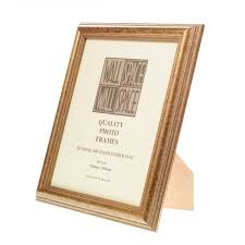 now speckled gold photo frame 10x8
